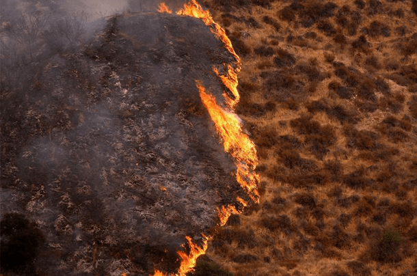 Brush Fires – California (2009) Incredible Photographs Showing Nature's Wrath