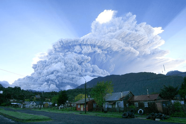 Chaiten Volcano – Chile (2008)