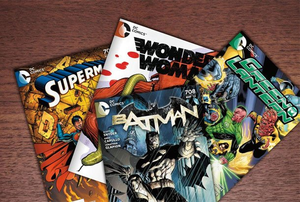 DC Comics 25 Book Grab Bag