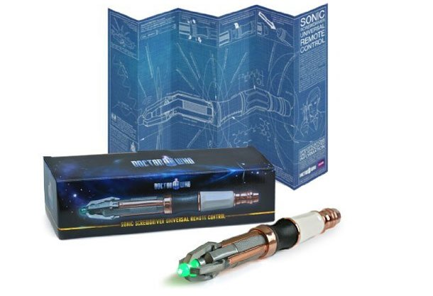 Doctor Who Sonic Screwdriver - ProgrammablUniversal Remote Control