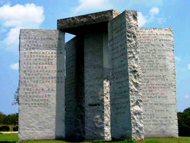 Georgia Guidestones Historical Unsolved Mysteries unsolved mysteries american history