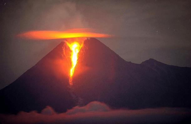 Mount Merapi Volcano – Indonesia (2010)