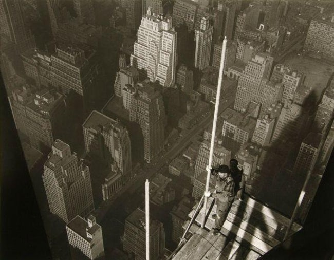 Raising The Mast, Empire State Building Famous Empire State Building Workers Photo