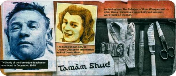 Tamam Shud best unsolved mysteries episodes