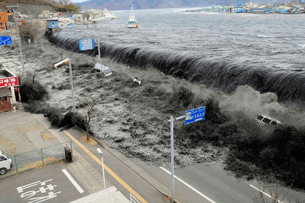 Tsunami Wave – Japan (2011) Incredible Photographs Showing Nature's Wrath