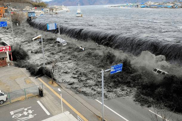 Tsunami Wave – Japan (2011) Incredible Photographs Showing Nature's Wrath
