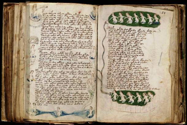 Voynich Manuscript Historical Unsolved Mysteries mysteries that are better left unsolved