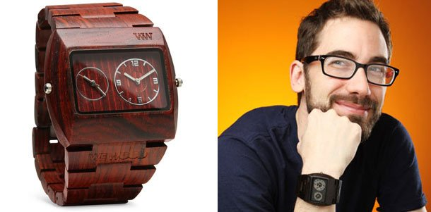 WeWood Jupiter Watch Awesome Holiday Gift Ideas For The Geek