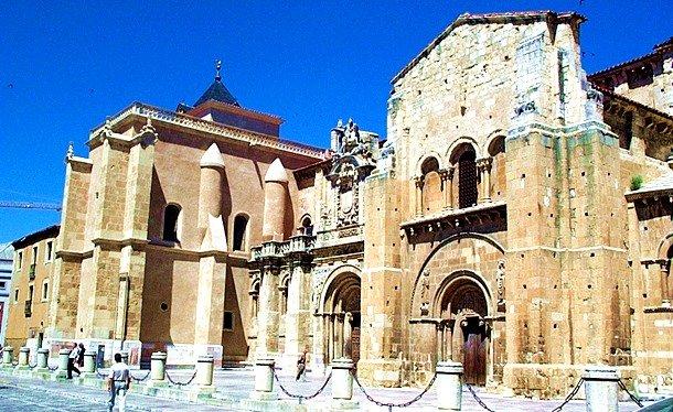 Basilica of San Isidoro. Leon, Spain. 10th century
