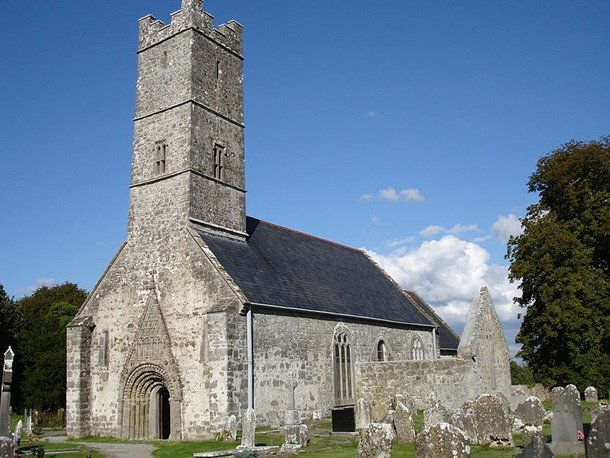 Clonfert Cathedral. Clonfert, County Gateway, Ireland. 12th century