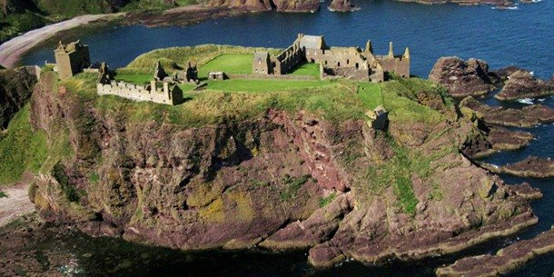 Dunnottar Castle. Aberdeenshire, Scotland.15th-16th centuries
