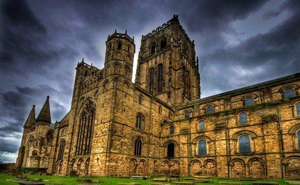 Durham Cathedral. Durham, England. 1093