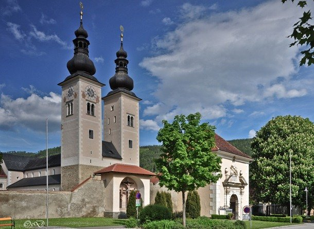 Gurk Cathedral. Gurk, Austria. 12th century