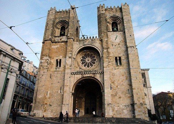 Lisbon Cathedral. Lisbon, Portugal. 1147