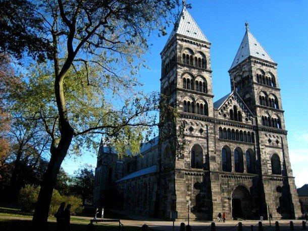 Lund Cathedral. Lund, Scania, Sweden. 1145