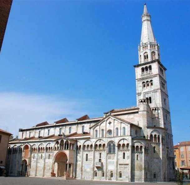 Modena Cathedral. Modena, Italy. 12th century