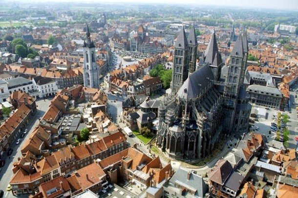 Notre Dame de Tournai. Tournai, Belgium. 17th century