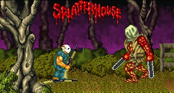 Splatterhouse List Of Most Gory Video Games