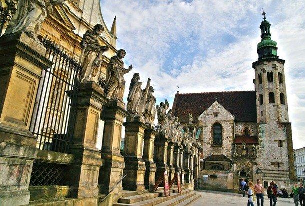 St. Andrew's Church. Krakow, Poland. 1079-1078