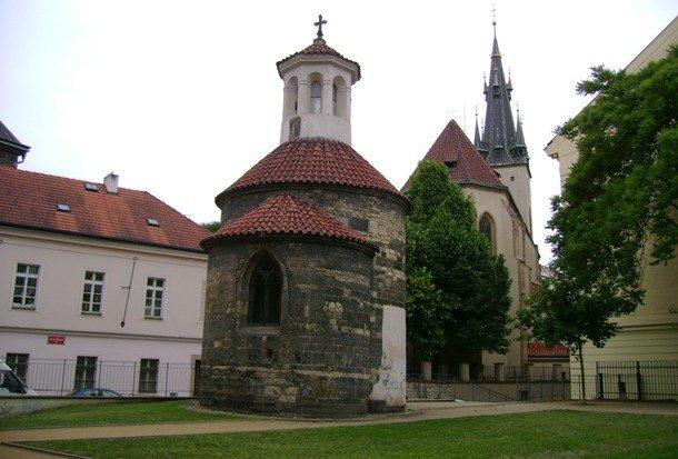 St. Longin's Rotunda. Prague. 12th century