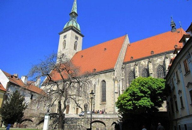 St. Martin's Cathedral. Spisske Podhradie, Slovakia. 13th-15th centuries