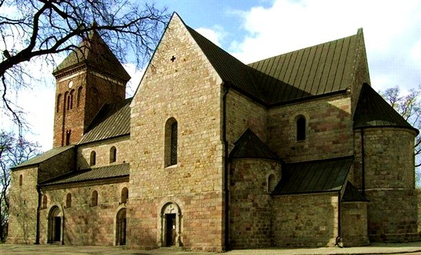 St. Peter and Paul Collegiate Church. Kruszwica, Kuyavia. 1120 Romanesque Architecture Examples