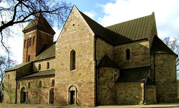 St. Peter and Paul Collegiate Church. Kruszwica, Kuyavia. 1120