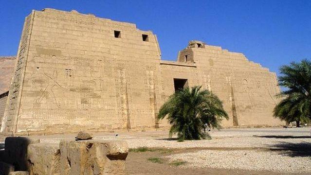 Medinet Habu. Luxor, Egypt. C. 1490 B.C.