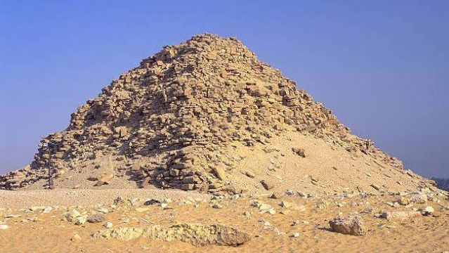 Pyramid of Sahure. Abusir, Egypt. C. 2480 B.C.