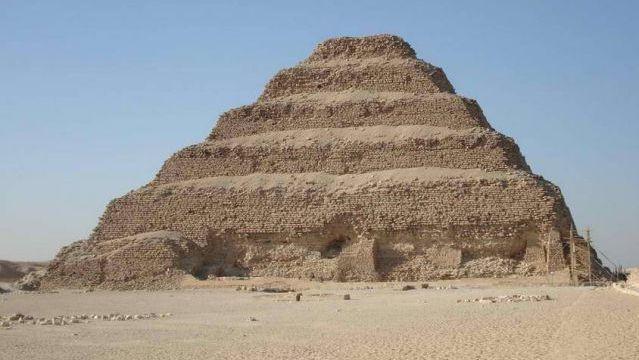 Step Pyramid of Djoser. Saqqara, Egypt. C. 2750 B.C.