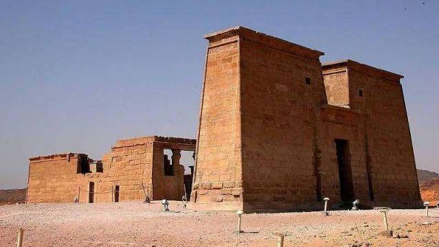 Temple of Dakka. Lower Nubia, Egypt. 300 B.C.