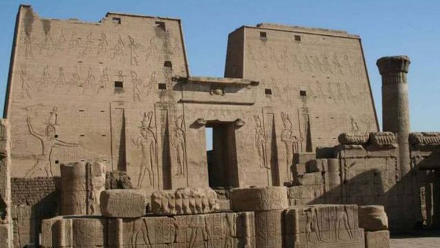 Temple of Horus. Edfu, Egypt. 237 to 57 B.C.