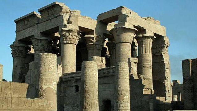Temple of Kom Ombo. Luxor, Egypt. 180 B.C.