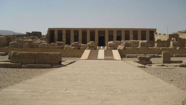 Temple of Seti I. Abydos, Egypt. 1300 B.C.