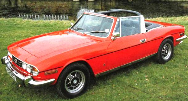 1970 Triumph Stag Worst Cars Ever Made