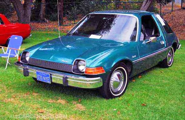 1975 AMC Pacer Worst Cars Ever Made