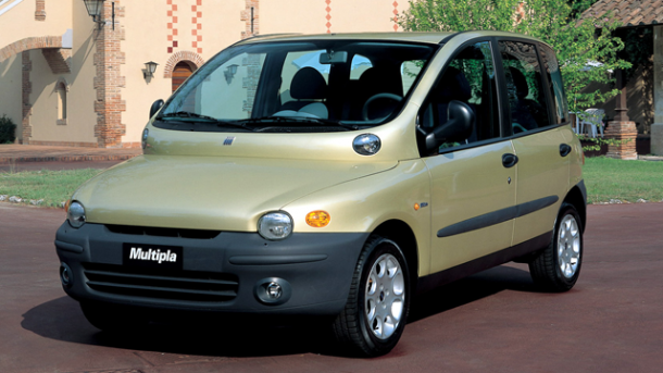 1998 Fiat Multipla Worst Cars Ever Made
