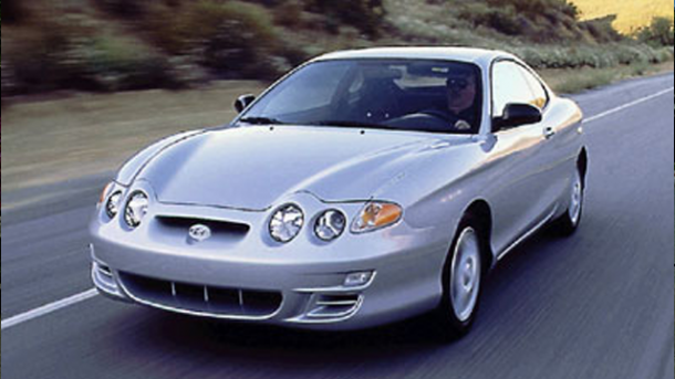 2000 Hyundai Tiburon  worst cars in the world