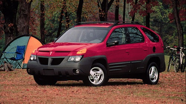 2001 Pontiac Aztek  worst cars in the world