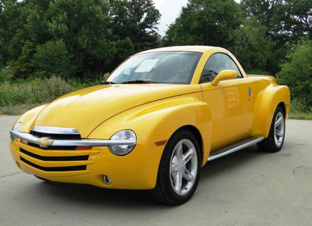 2004 Chevy SSR Worst Cars Ever Made