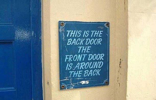 4 Strange Funny Signs