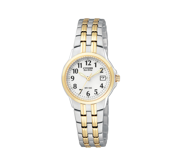 Citizen Silhouette Two-Tone Watch
