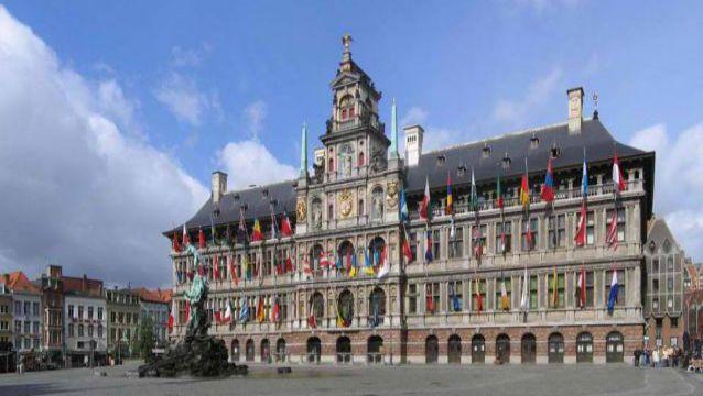 Cornelis Floris De Vriendt. Antwerp City Hall. Antwerp, Belgium. 1561-1565