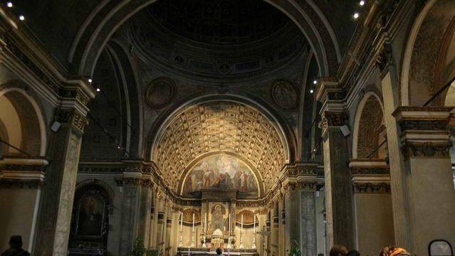 Donato Bramante, Giovanni Antonio Amadeo. Santa Maria Presso San Satiro. Milan, Italy. 1472-1482