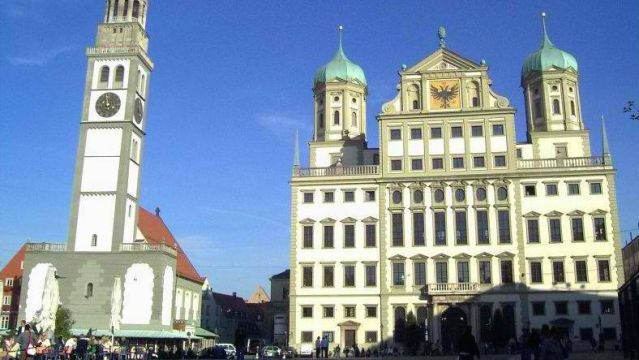 Elias Holl. Augsburg Town Hall. Augsburg, Bravia, Germany. 1615-1624