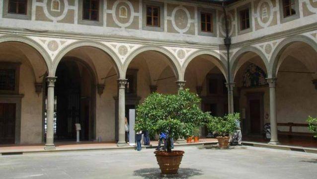 Filippo Brunelleschi. Ospedale Degli Innocenti. Florence, Central Italy. 1419-1445