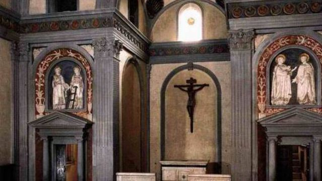 Filippo Brunelleschi. Sagrestia Vecchia. Florence, Italy. 1421-1440