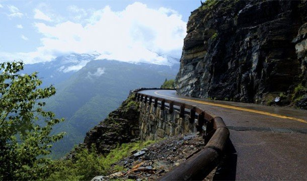 Going-to-The-Sun Road, Glacier National Park, Montana]