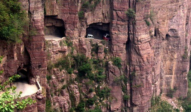 Guoliang Highway, China Best Roads In The World