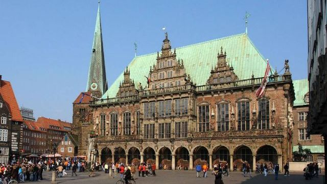 Luder Von Bentheim. Bremen City Hall. Bremen, Germany. 1405-1409